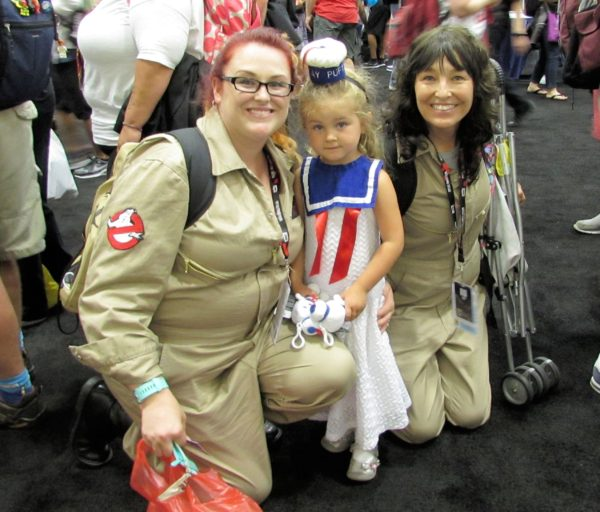 Ghostbusters and a litte Stay Puft Marshmallow cutie!