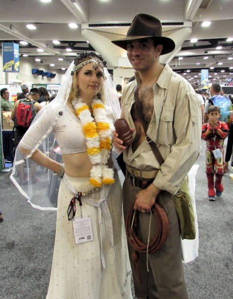 Indiana Jones & Willie Scott by Mad Lovers Cosplay