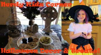 Halloween Decor and Treats