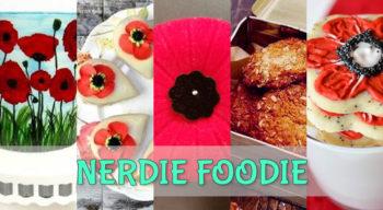 nerdie foodie remembrance day