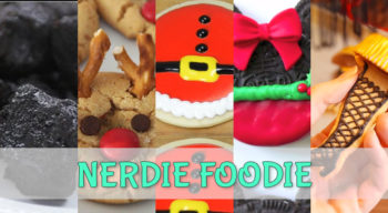 nerdie foodie christmas cookie exchange 2016