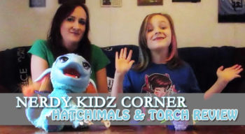 nerdy kidz corner hatchimals torch
