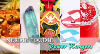 nerdie foodie power rangers