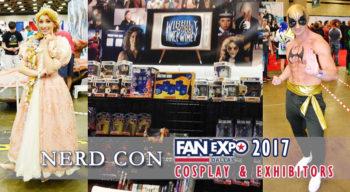nerd con fan expo dallas cosplay and exhibitors