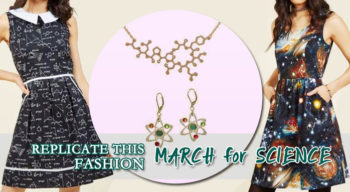 replicate this fashion march for science