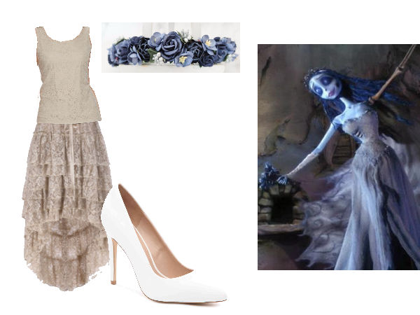 Tim Burton Fashion Corpse Bride