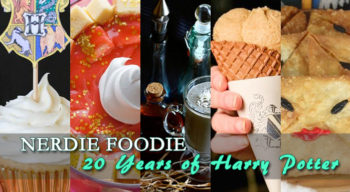 nerdie foodie 20 years of harry potter