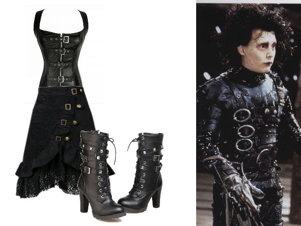 Tim Burton Fashion Edward Scissorhands