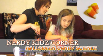 nerdy kidz corner halloween candy science