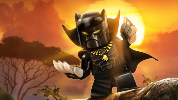 news black panther lego