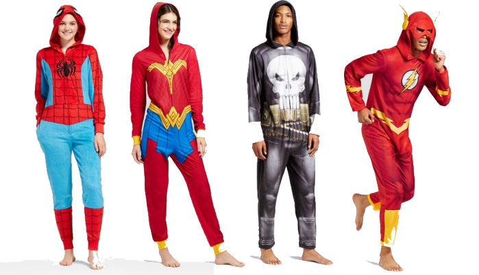 Comic Book Pajamas