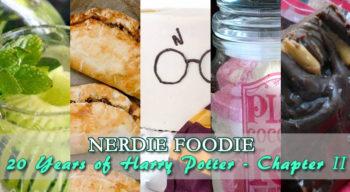 nerdie foodie 20 years of harry potter chapter ii
