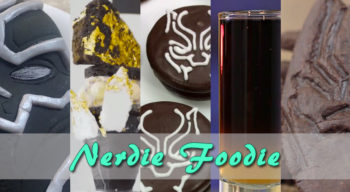 nerdie foodie black panther