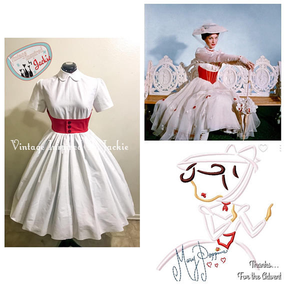 Vintage Inspired Disney Mary Poppins