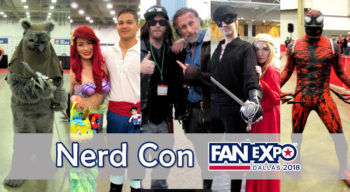 nerd con fanexpo dallas 2018 cosplay