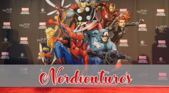 nerdventures marvel mopop red carpet