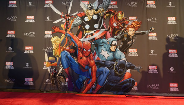 mopop marvel red carpet