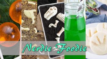 nerdie foodie jurassic world