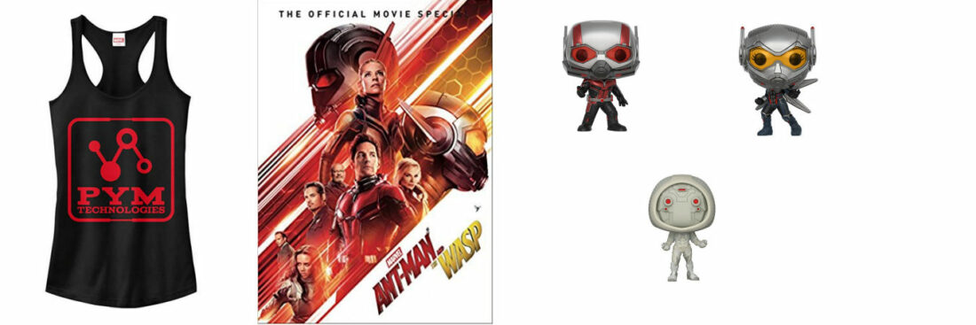 Ant-Man and The Wasp Nerdcessities