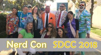 nerd con sdcc 2018 offsites