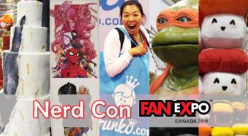 nerd con fanexpo canada 2018 vendors artist alley