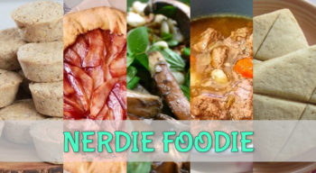 nerdie foodie tolkien journey to middle earth