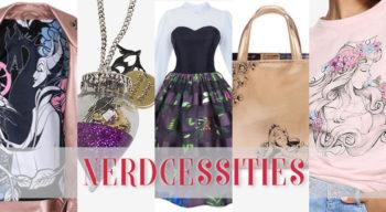 nerdcessities sleeping beauty fashion merch