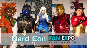 nerd con fanexpo vancouver 2019 cosplay