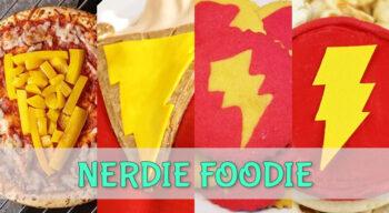 nerdie foodie shazam!