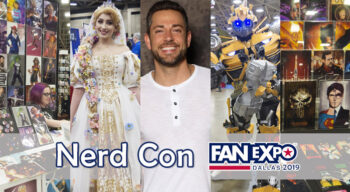 nerd con fanexpo dallas 2019 overview