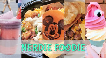 nerdie foodie magic kingdom treats