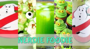 nerdie foodie ghostbusters anniversary