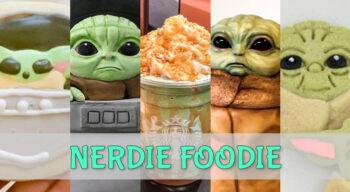 nerdie foodie baby yoda the mandalorian