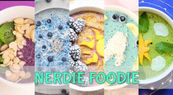 nerdie foodie new year nerd fit princess smoothie bowls