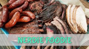 nerdie foodie franklin bbq