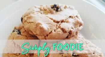 simply nerdie foodie white chocolate craisin coconut cookies recipe