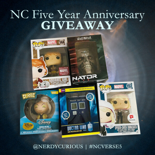 nerdy curious fifth anniversary giveaway