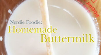 nerdie foodie homemade buttermilk