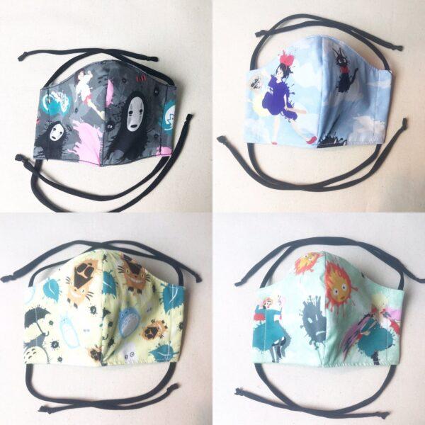 tope nerdy 10 ghibli masks