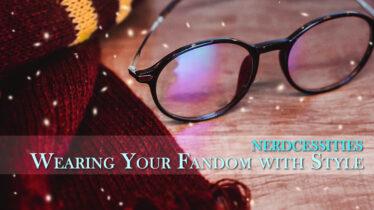 nerdcessities wearing your fandom banner